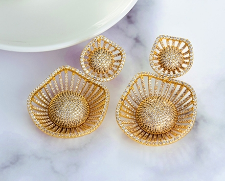 Picture for category Luxury CZ Jewelry- Big CZ Earrings