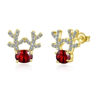 Show details for  Others Zinc Alloy Stud Earrings 3LK053822E