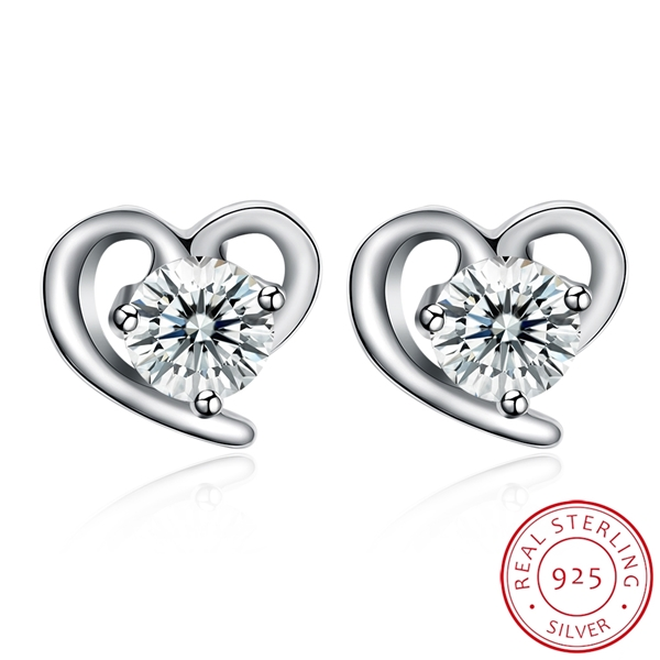 Picture of Casual Love & Heart Stud Earrings Online