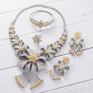 Picture of Luxury Big 4 Piece Jewelry Set at Unbeatable Price