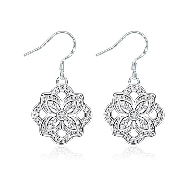 Picture of Beautiful Cubic Zirconia White Drop & Dangle Earrings