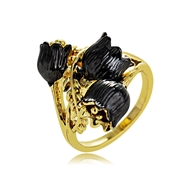 Picture of Zinc Alloy Multi-tone Plated Fashion Ring at Factory Price