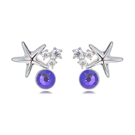 Picture of Need-Now Purple Casual Stud Earrings from Editor Picks