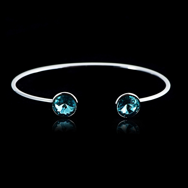 Picture of Fashion Swarovski Element Fashion Bangle with Wow Elements