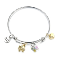 Show details for Beautiful Swarovski Element Colorful Fashion Bangle