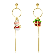 Picture of Inexpensive Gold Plated Cubic Zirconia Dangle Earrings with Member Discount