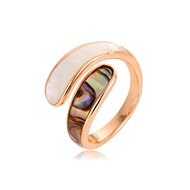 Picture of Impressive Colorful Zinc Alloy Fashion Ring with Low MOQ