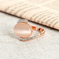 Picture of Reliable Rose Gold Plated Small Fashion Rings