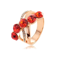 Picture of Irresistible Red Casual Fashion Ring As a Gift