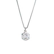 Picture of Great Cubic Zirconia 16 Inch Pendant Necklace
