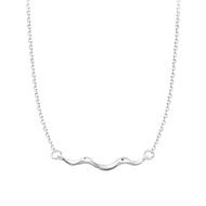 Picture of 16 Inch Platinum Plated Pendant Necklace at Super Low Price