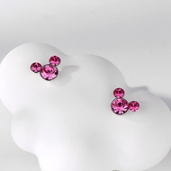 Picture of Filigree Small Swarovski Element Stud Earrings