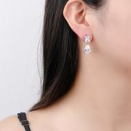 Picture of Unique Cubic Zirconia Medium Dangle Earrings