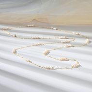 Picture of Staple Big Artificial Pearl Long Pendant