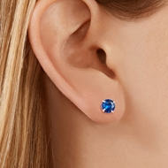 Picture of Delicate Platinum Plated Stud Earrings with 3~7 Day Delivery