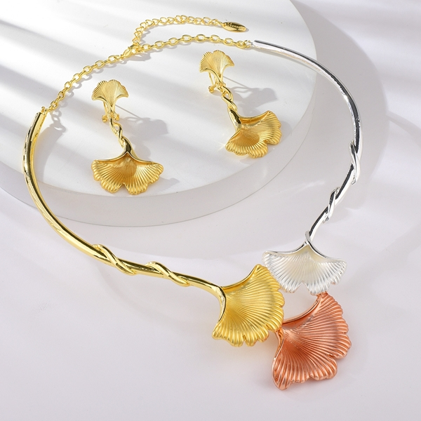 Picture of Low Price Multi-tone Plated Big 2 Piece Jewelry Set