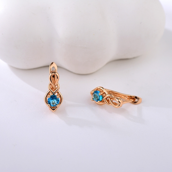 Picture of Low Price Rose Gold Plated Small Small Hoop Earrings from Trust-worthy Supplier