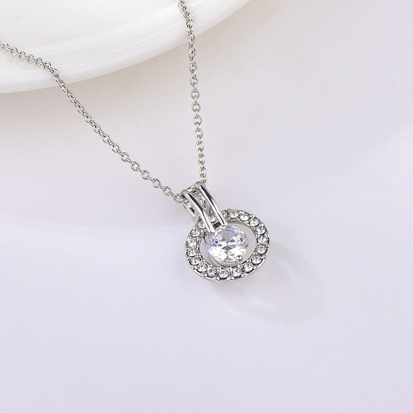 Picture of Pretty Classic Platinum Plated Pendant Necklace