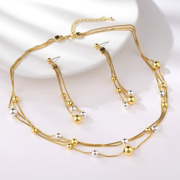 Picture of Hot Selling Gold Plated Dubai 2 Piece Jewelry Set with No-Risk Refund