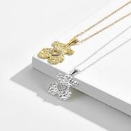 Picture of Delicate Cubic Zirconia Pendant Necklace of Original Design